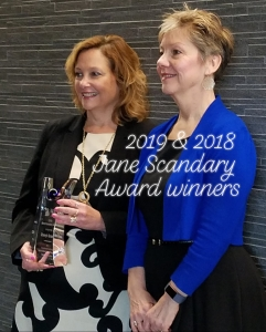 2018 & 2019 Jane Scandary Award Recipients